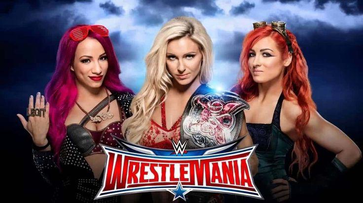 #SashaBanks vs #BeckyLynch vs #Charlotte: The Battle #WrestleMania can't get Better