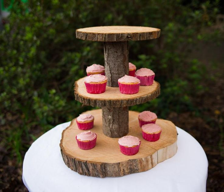 diy cake stand at home