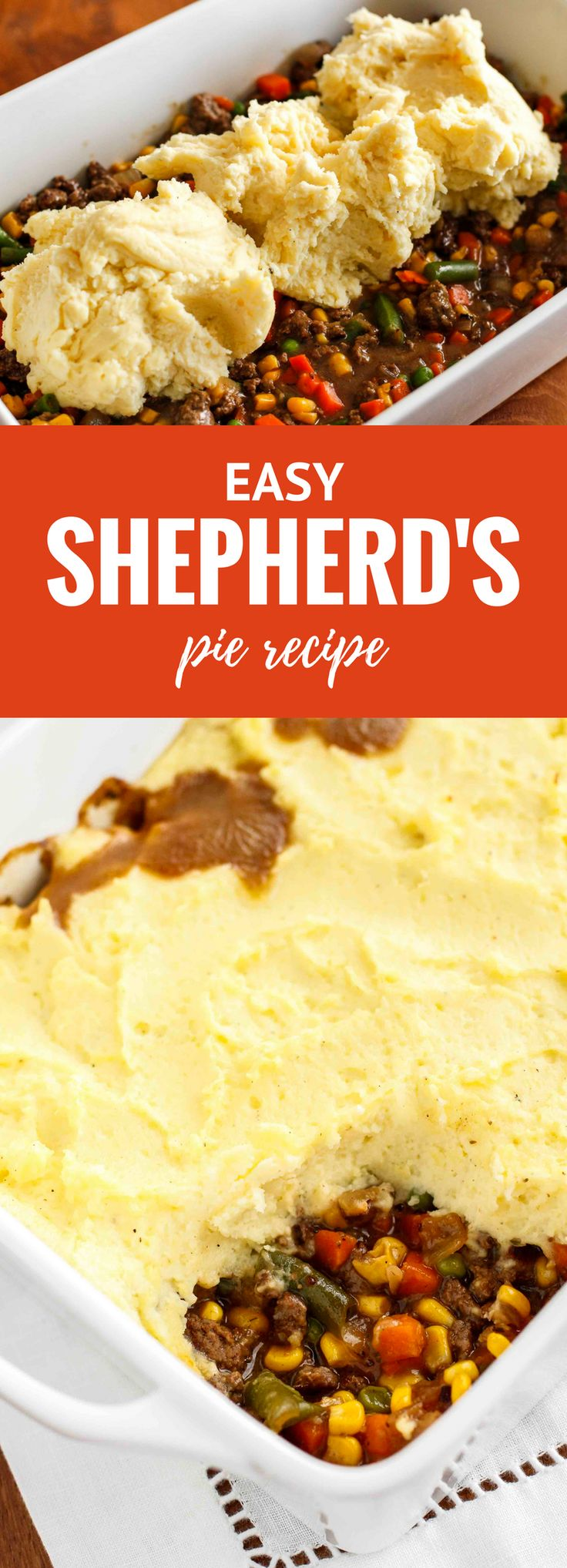 Shepherd's Pie Recipe -- shepherd's pie is a fabulous comfort food, as well as one of my favorite ways to use up leftover mashed potatoes!   unsophisticook.com