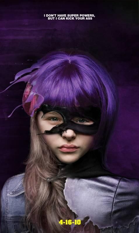 Unused Movie Posters for KICK-ASS   Hit Girl<3 Chloe Moretz love her!