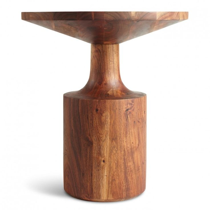 turn tall side table round wood side table blu dot