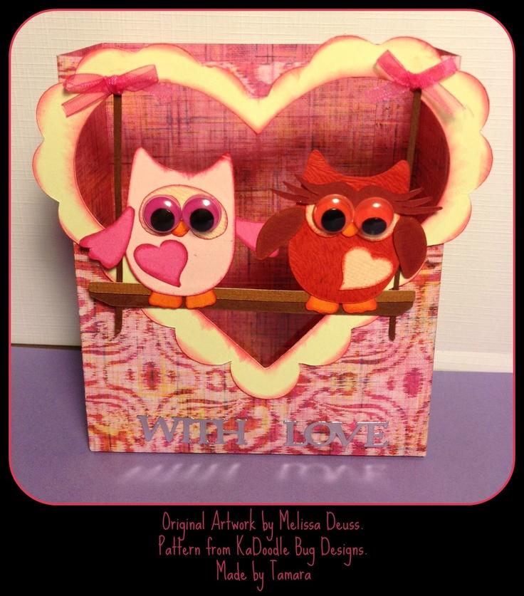 **SWEET**TammsCreas: Valentines box!