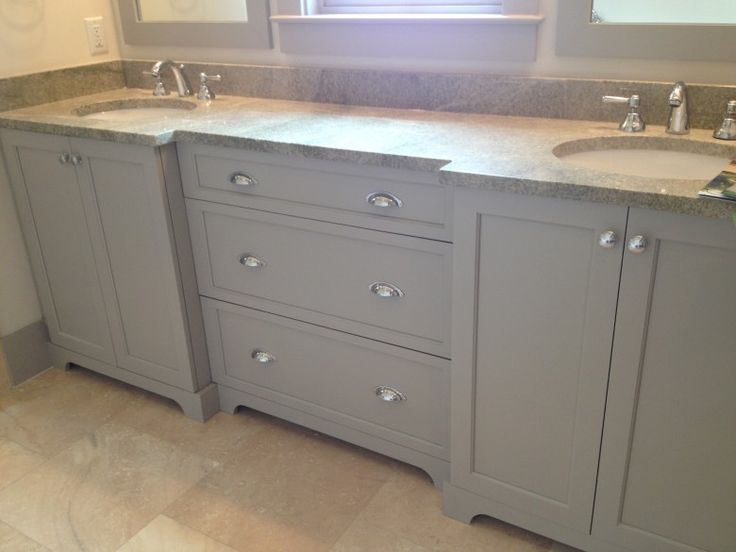 Note: Full Doors On Sink Cabinet And Trim At Bottom For Our Bath. Southern