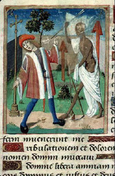 Le triomphe de la mort, Livre d'heures, 16e siècle #Enluminure