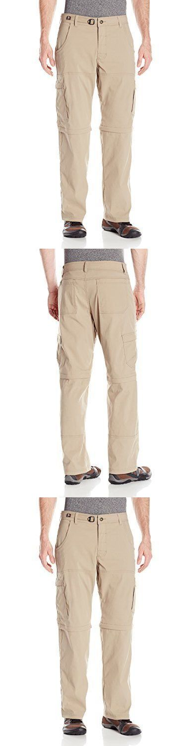 Clothing 101685: Prana Men S Stretch Zion Convertible 30In Pants Size 35 Dark Khaki, New -> BUY IT NOW ONLY: $82.89 on eBay!