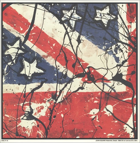 The Stone Roses - Waterfall (single) (Design by John Squire)