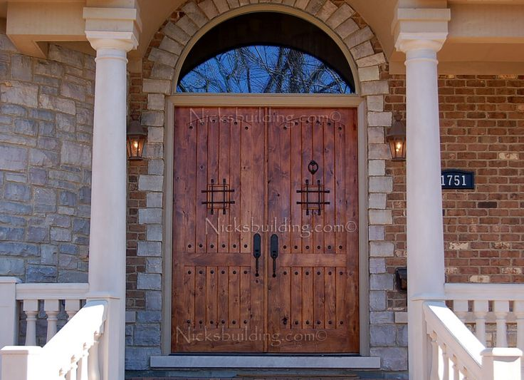 Knotty Alder Front Door Old World Double Door Amazing Front Wood Entrance That Creates Some