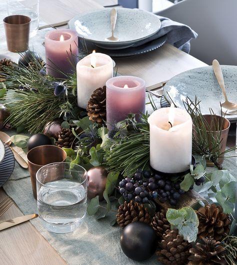 So funktioniert der Look »Nordische Weihnachten«…
