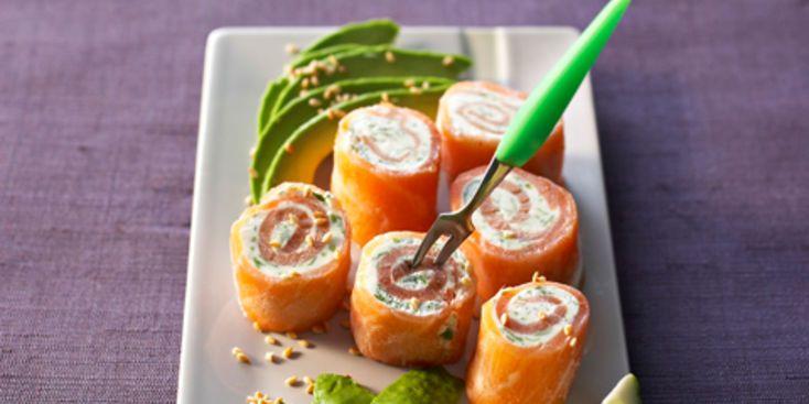 Bouchées de saumon aux herbes
