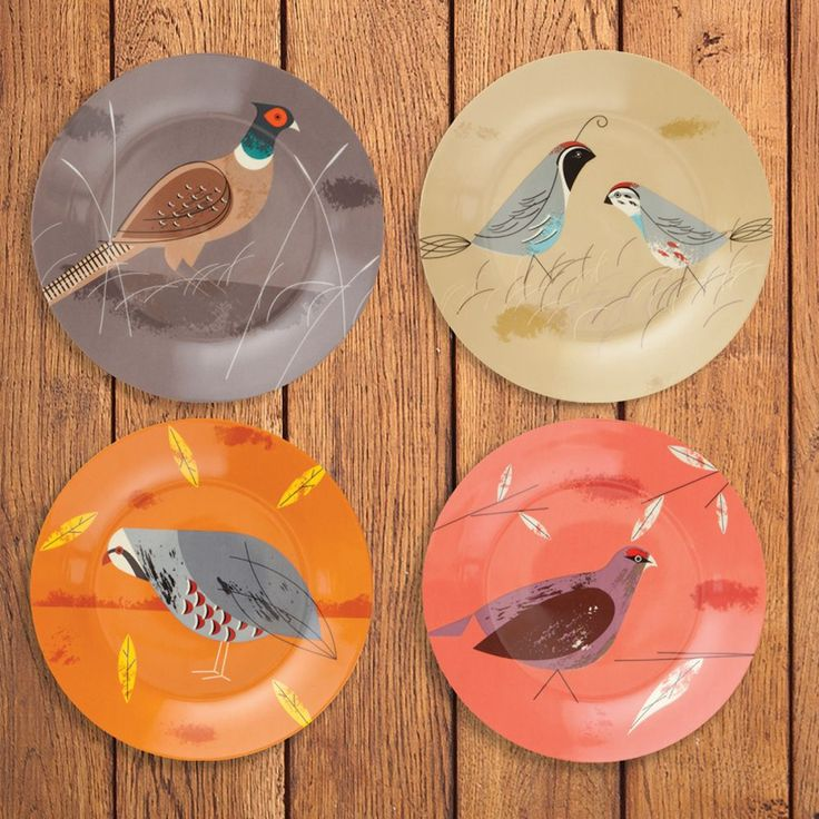 GAME BIRDY - SIDE PLATES