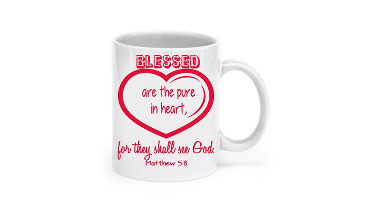 * JUST RELEASED *'Blessed the pure in heart for they shall see God'Matt 5:8Limited Time OnlyThis itemis NOT available in stores.Guaranteed safe checkout:PAYPAL | VISA | MASTERCARDClickBUYIT NOWTo Order Yours!(100% Printed, Made, And Shipped From The USA)