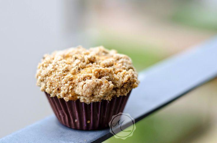 Dyňové muffiny s drobenkou ~ Mangiare squisito ~ Foodblog