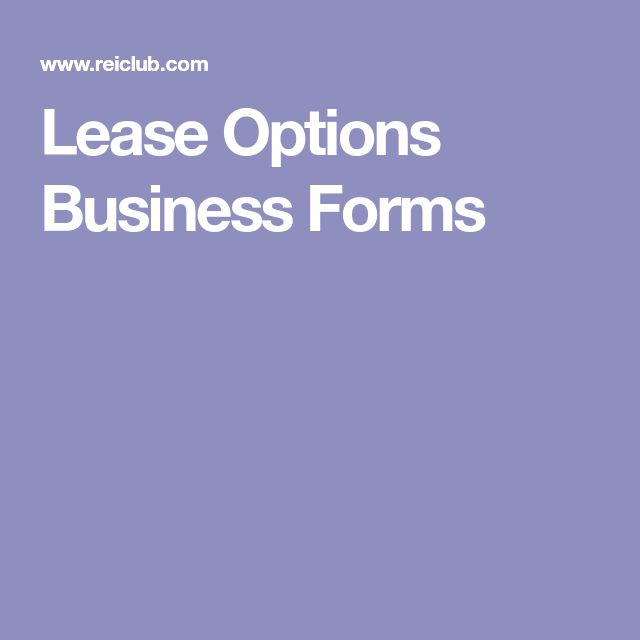 91 best Real Estate Investing Lease Options images on Pinterest - master lease agreement