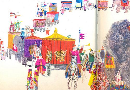 The Circus by Brian Wildsmith by Tiny tin on Flickr.