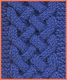 cable knit celtic plait pattern