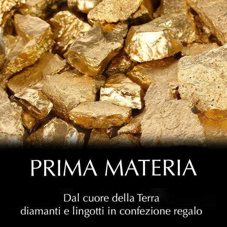Prima Materia - Oro in lingotti e diamanti in blister Scopri le collezioni su https://cazzanigagioielli.itcportale.it/