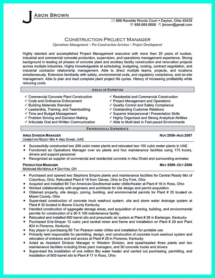 resume for code enforcement