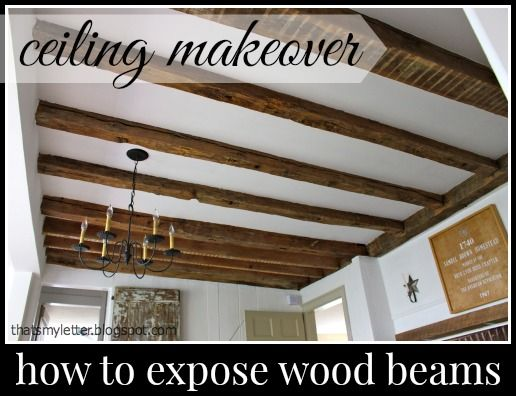 "That's My Letter: ""C"" is for Ceiling Makeover"