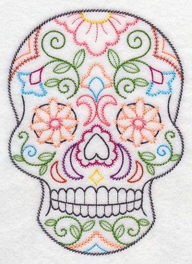 Best 25+ Sugar Skull Design Ideas On Pinterest | Candy Skulls Mexican Skull Art And Mexican Skulls