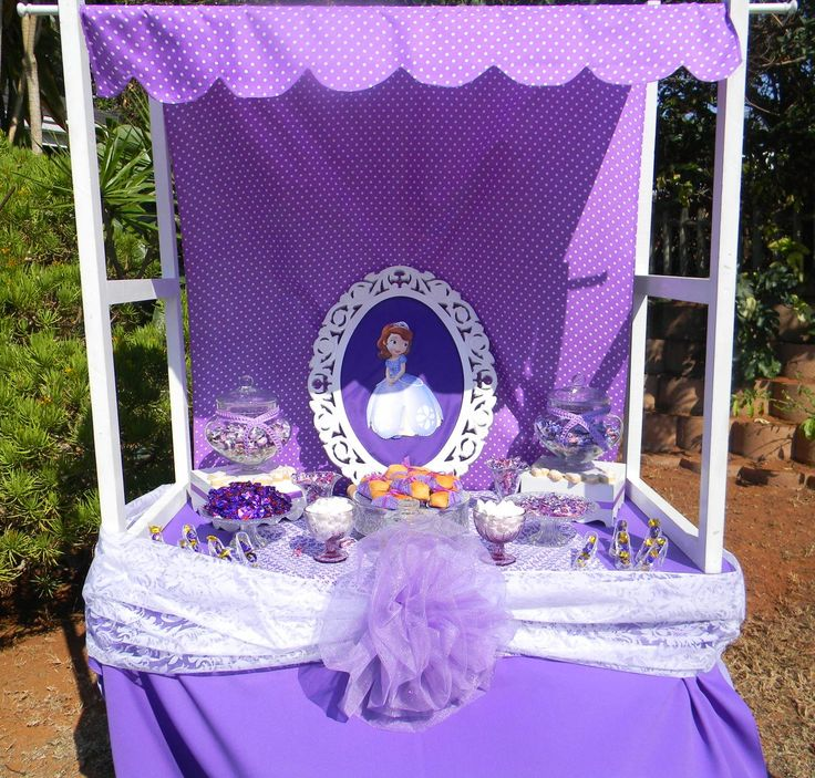 Sofia the 1st Candy Table by Co-Ords Kidz Party Boutique