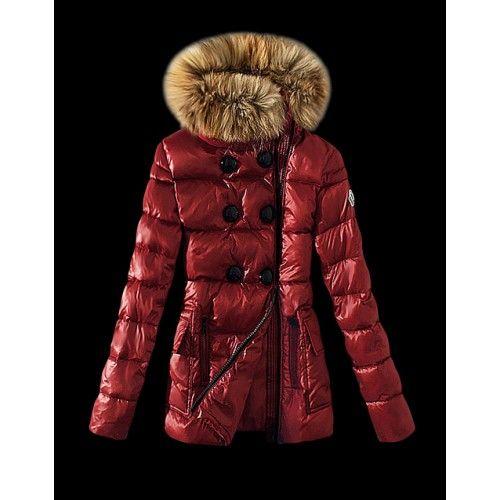 Moncler Coats rojas