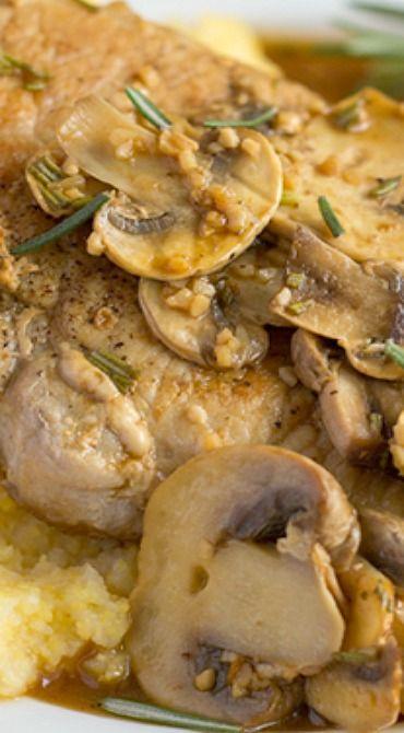Marsala Pork Cutlets with Mushrooms