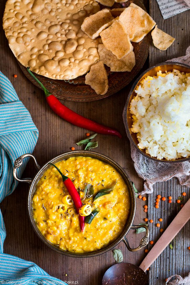 Dhal - curry z soczewicy, dhal curry #dhal #curry #soczewica #lentil #srilanka
