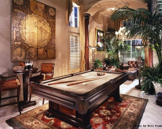 Pool Table Design, Pictures, Remodel, Decor and Ideas - page 3