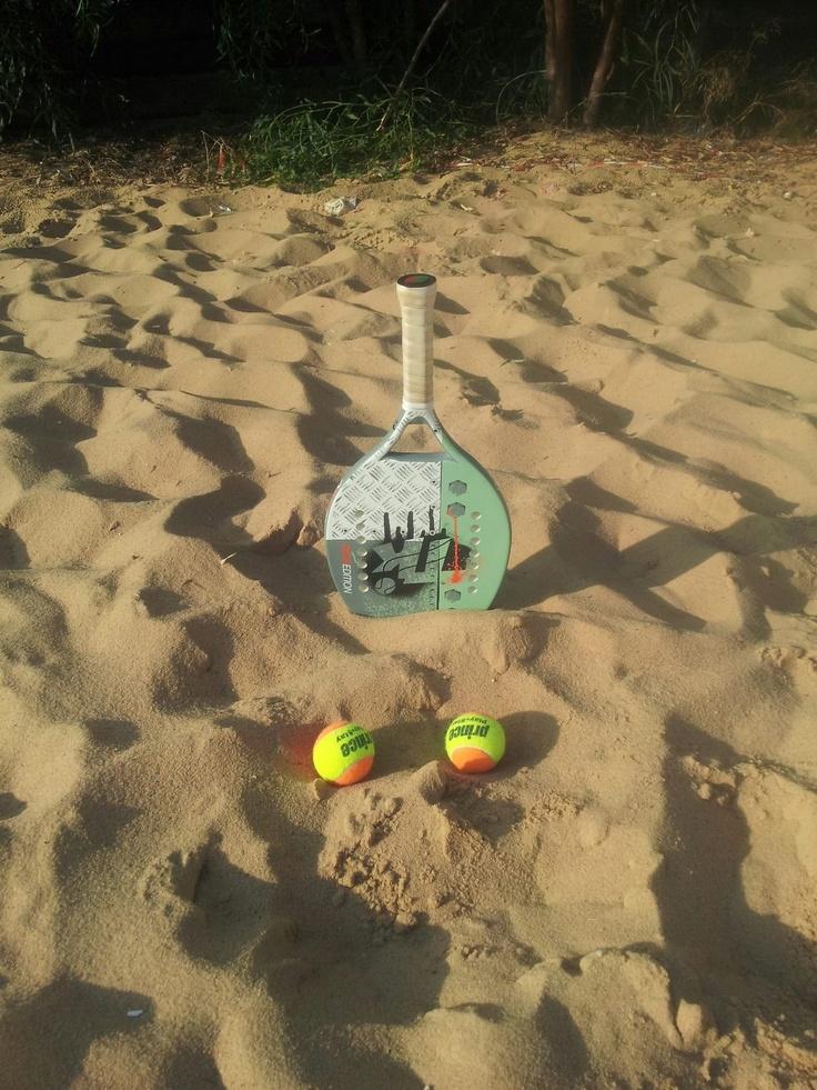 Beach tennis in Cyprus