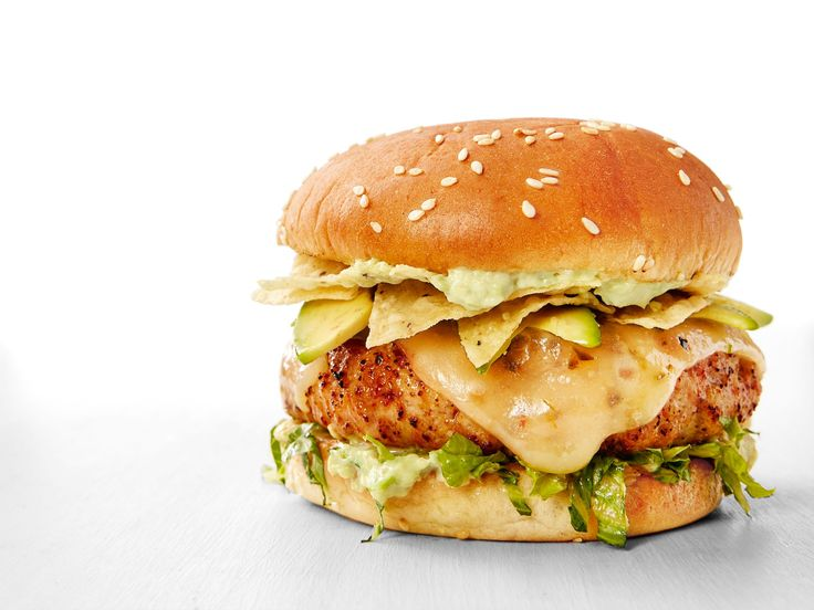 Get this all-star, easy-to-follow Tex-Mex Turkey Burgers with Avocado Mayonnaise recipe from Food Network Kitchen