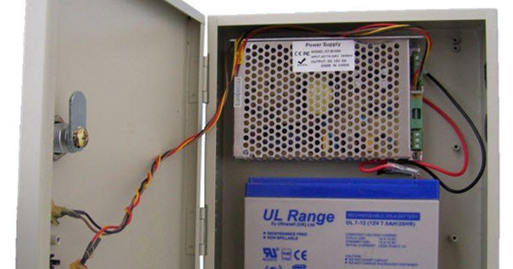 Εξωτερικό τροφοδοτικό backup 12V/5Aσε μεταλλικό κουτί   Εξωτερικό τροφοδοτικό backup 12V/5Aσε μεταλλικό κουτί για σύστημα συναγερμού ή CCTV Δέχεται μπαταρία μέχρι 12V/7Ah Ενδεικτικά LEDσωστής λειτουργίας