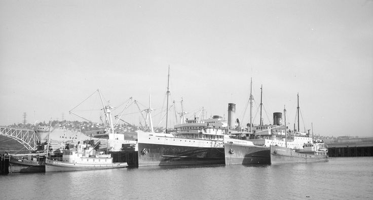 Princess Louise and Canadian Prince up for sale and tied up in North Vancouver 1963/4