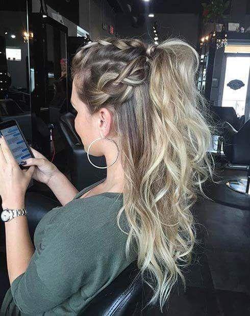Meio preso com tranças na raiz: lindo e fácil de copiar! (Prom Hair Ponytail)
