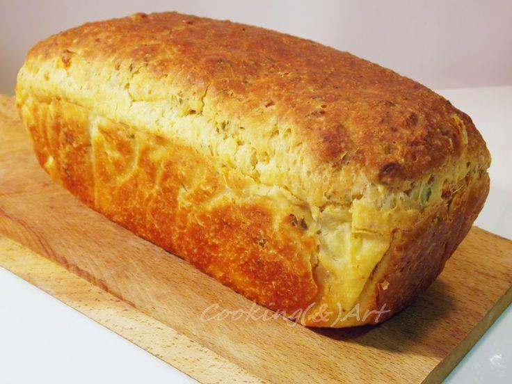 Μαγειρική(&)Τέχνη!: Ψωμί με φέτα & αρωματικά βότανα / Feta Cheese & Herb Loaf !