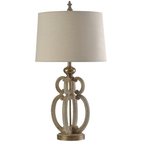 Ivory and Gold Sculpture Table Lamp (2,355 MXN) ❤ liked on Polyvore featuring home, lighting, table lamps, beige shade, scroll table lamp, beige table lamps, alabaster shades and ivory table lamp