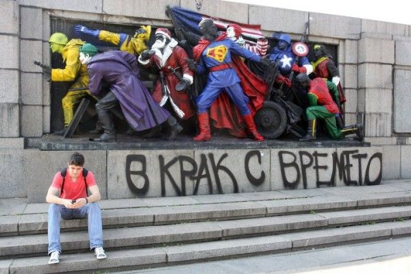 Best of street art 2011: 3D Street Art, Art Blog, Comics Book, Street Art Utopia, Urban Art, Art I Like, Marvel Heroes, Superhero, Streetart