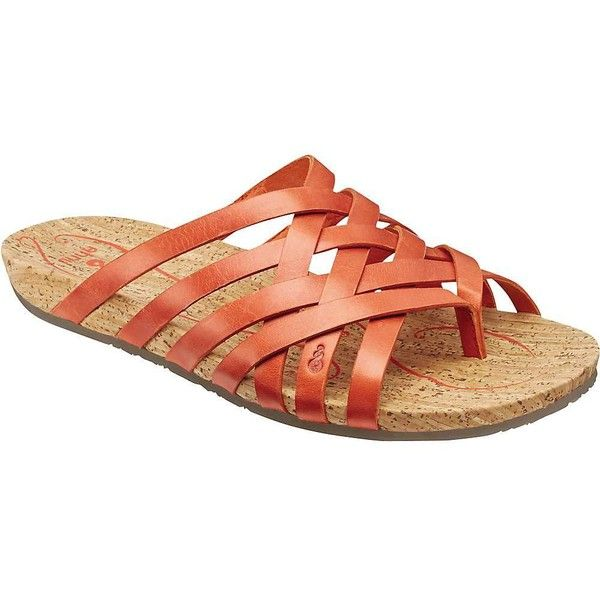 Ahnu Women's Maia Thong ($80) ❤ liked on Polyvore featuring shoes, sandals, flip flops, red stone, ahnu footwear, red flip flops, metallic flip flops, antimicrobial sandals and metallic shoes