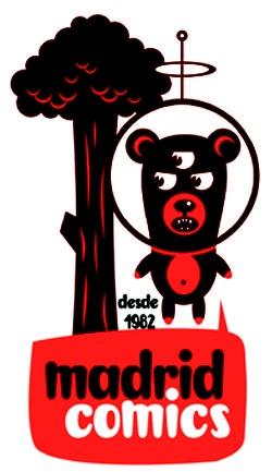 Logo de la tienda Madrid Comics  Diseñado por Jorge Alderete  http://madridcomics.blogspot.com