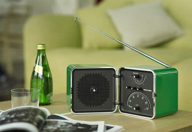 #RadioCubo #Verde #Menta by #Brionvega Collection.  It #sounds #different.