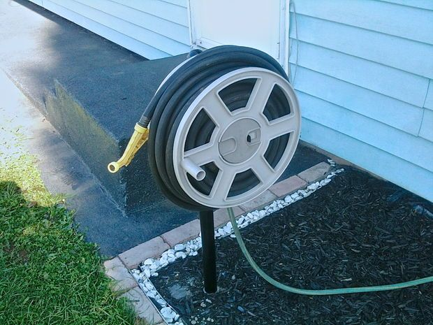 17 Best ideas about Hose Reel on Pinterest Patio lighting Yard