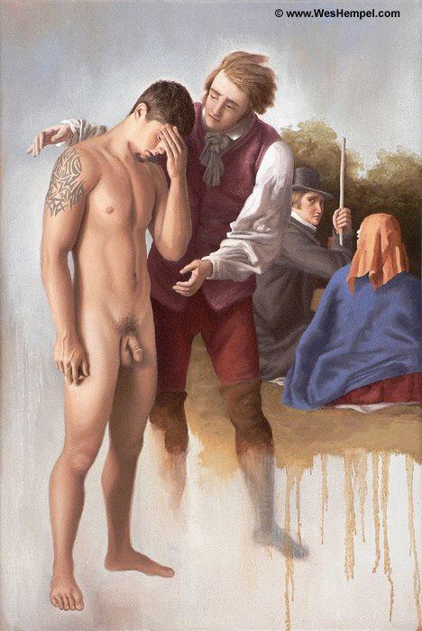 Anton bondage sexy slave baron