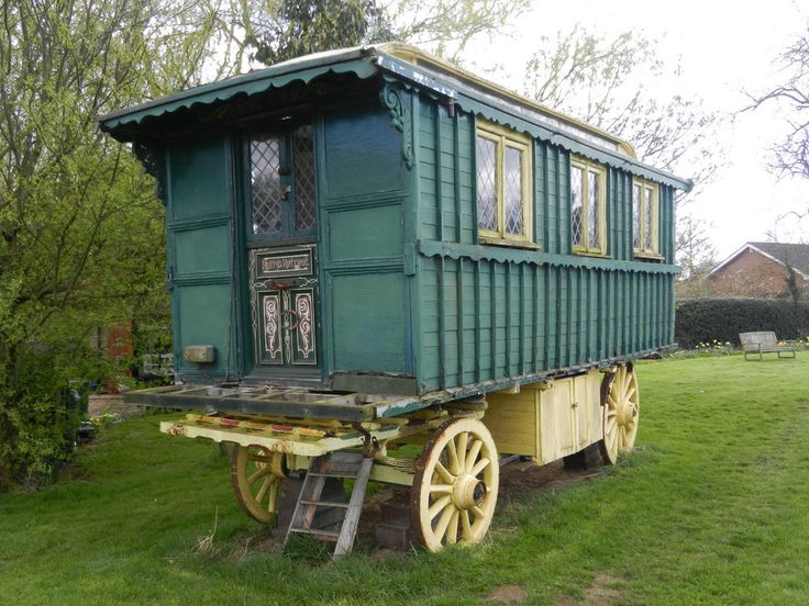 766 best images about showmans gypsy wagons on pinterest gypsy living english and shepherds hut - The mobile shepherds wagon ...