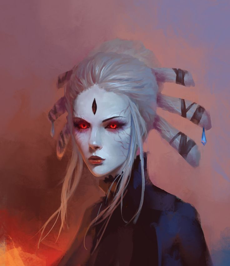 Portrait practice, Eldar Velikhanov on ArtStation at https://www.artstation.com/artwork/JDy80