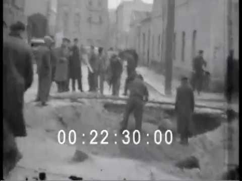VILLACIDRO &  CAGLIARI 1943s footage