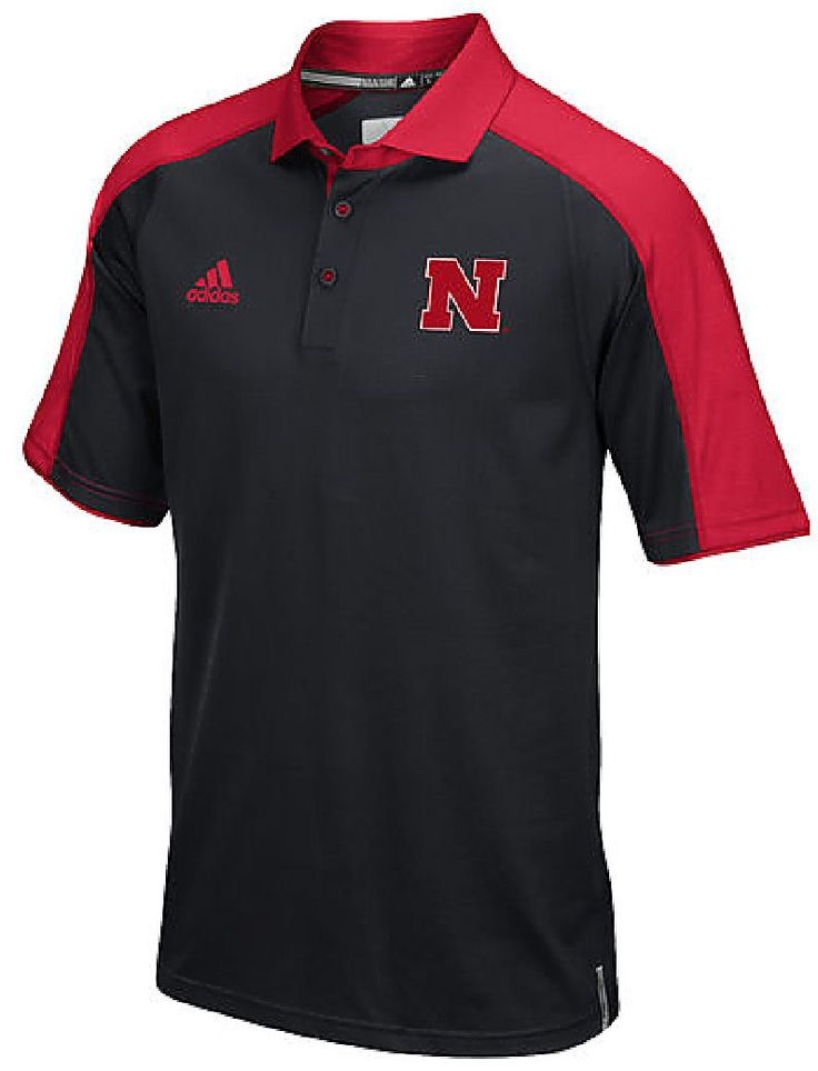 17 best images about huskers cave on pinterest football for Soccer coach polo shirt