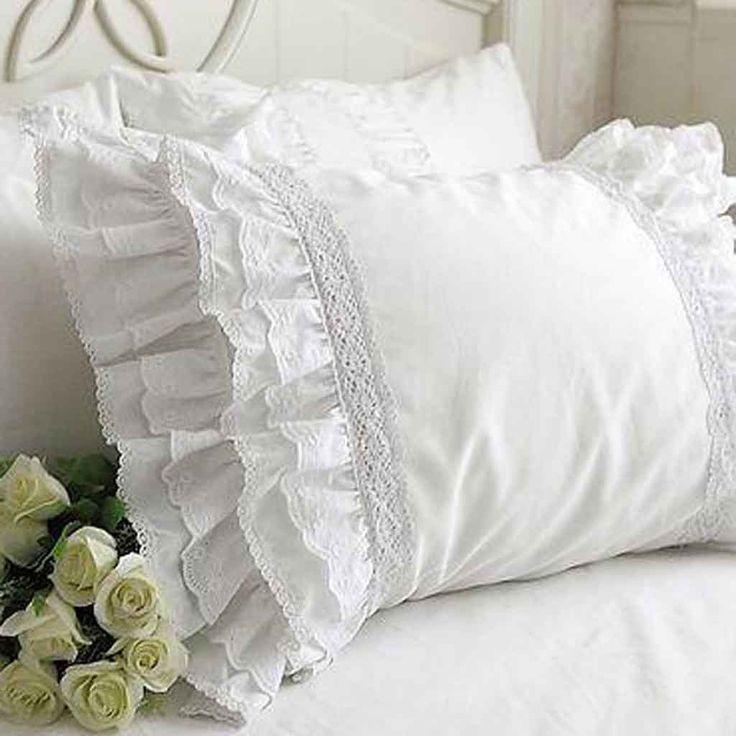 Gorgeous Lace Love Pillow Sham