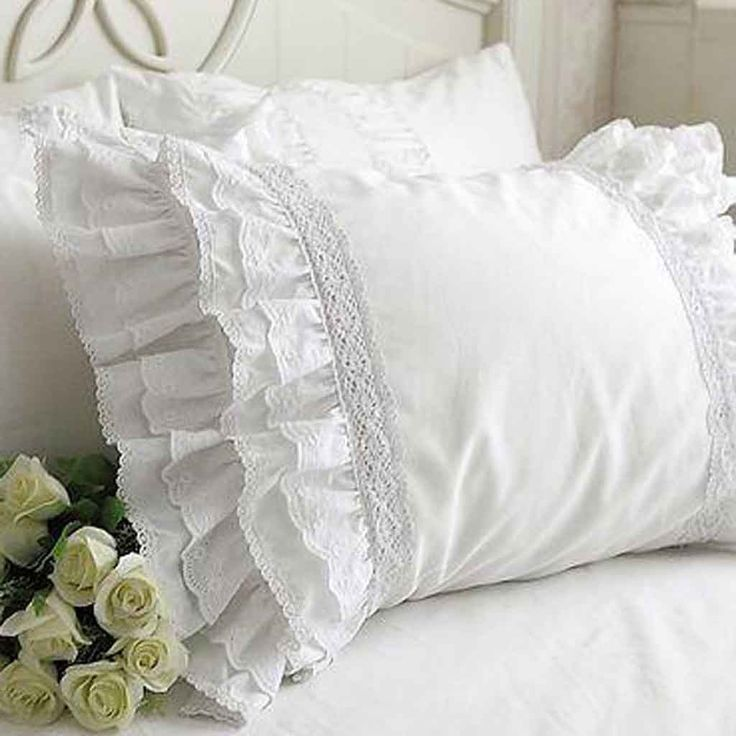 Lace Love Pillow Sham, super cute