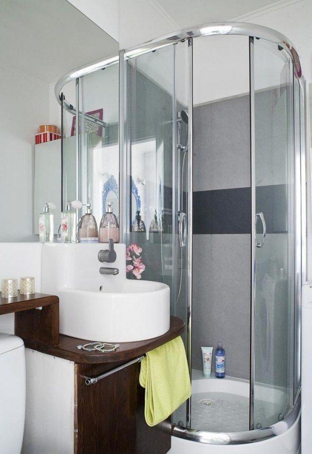 Kleines Bad Mit Dusche Modern Gestalten 51 Badezimmer Ideen Und Beispiele In 2020 Mit Bildern Kleines Bad Einrichten Kleines Badezimmer Mobel