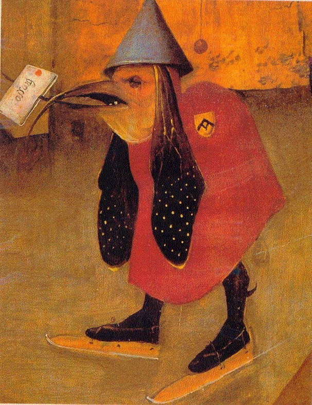 Hieronymus Bosch, The Temptation of St. Anthony (detail), 1501