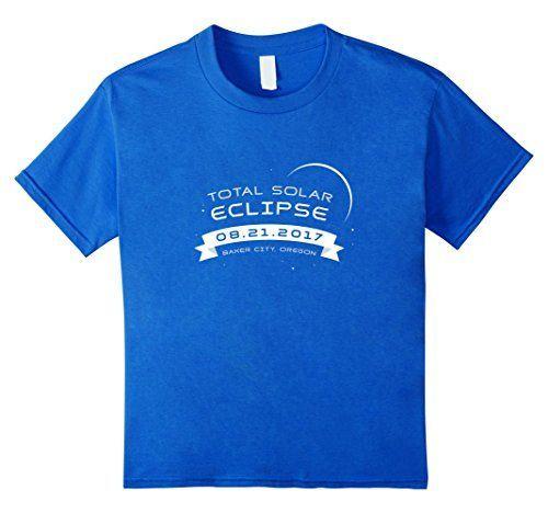Total Solar Eclipse 2017 Shirt Baker City Oregon Souvenir...